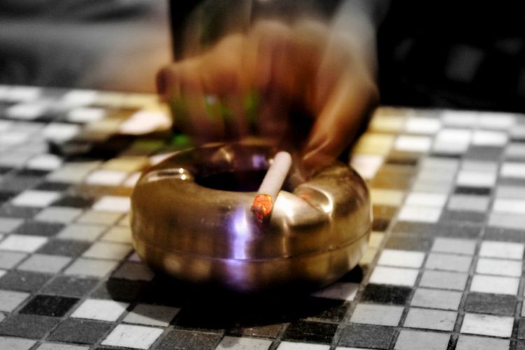 Smoke and ash.. Cigarettes And Shadows Ashtrays Cigarettes In Hand Tilesphotography