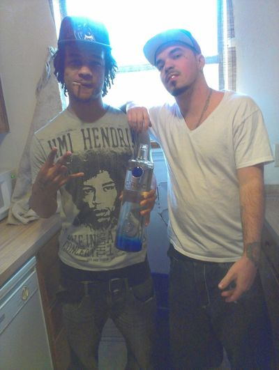 Me & Crodie... PlutoDash SunsetBlacc Rappers SC Newports Ciroc Bluedevils