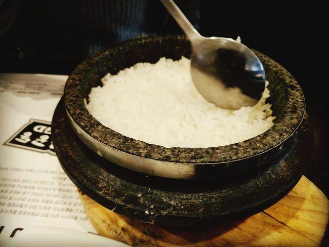 dolsot bap (돌솥밥) aka stone pot rice EyeEm Selects Stone Pot Rice Flushing, New York Queens World's Fair FlushingFantastic MyFlushing Close-up Food And Drink