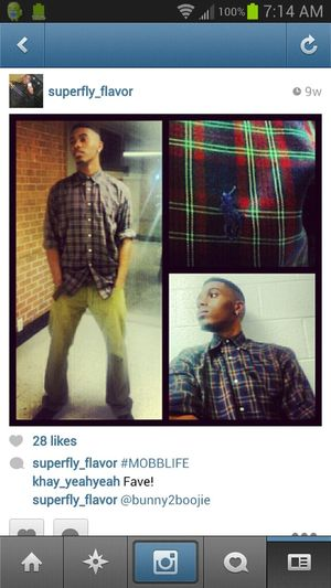 Check how I rock on IG : Superfly_flavor