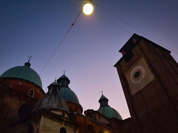 Architecture Built Structure Building Exterior History Dome Travel Destinations Clear Sky Outdoors City Churches Twilight Low-angle Shot Faux Full Moon