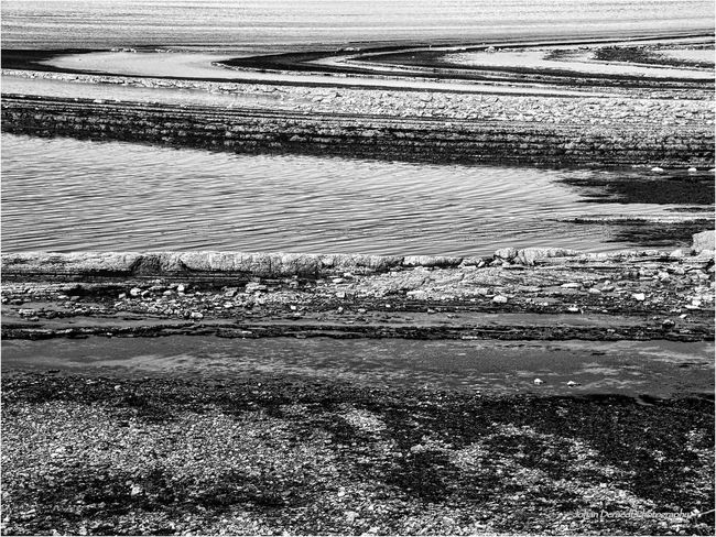 Ile d'Oléron B&w Curves Day Landscape Nature No People Outdoors Tranquility Water