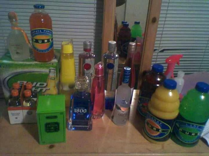 Liquor For My Bday Last Year