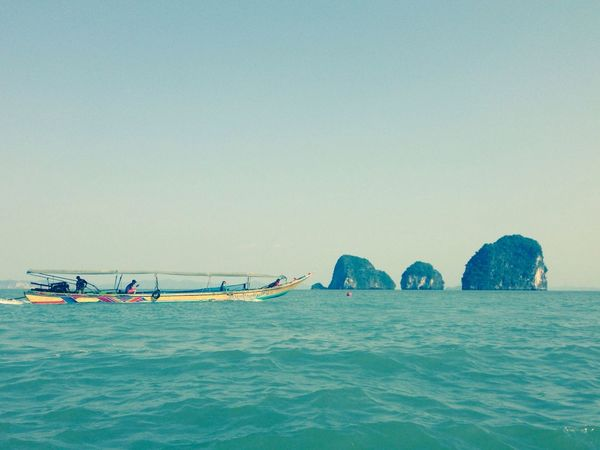 James Bond Island transportation. Love travel!