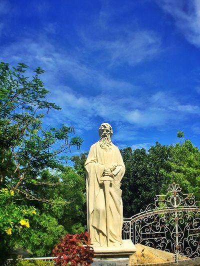 Statue Sculpture Religion Sky Outdoors Day Cloud - Sky Blue Cultures