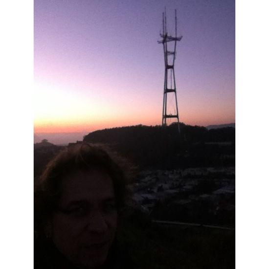 Landmark Sunset Silhouettes Sutro Sunset
