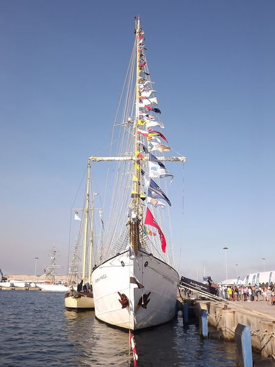 Blue Bright Clear Sky Culture Day Portugal Santa Maria Manuela Sea Ship Tranquility Water Ilhavo No Filter, No Edit, Just Photography