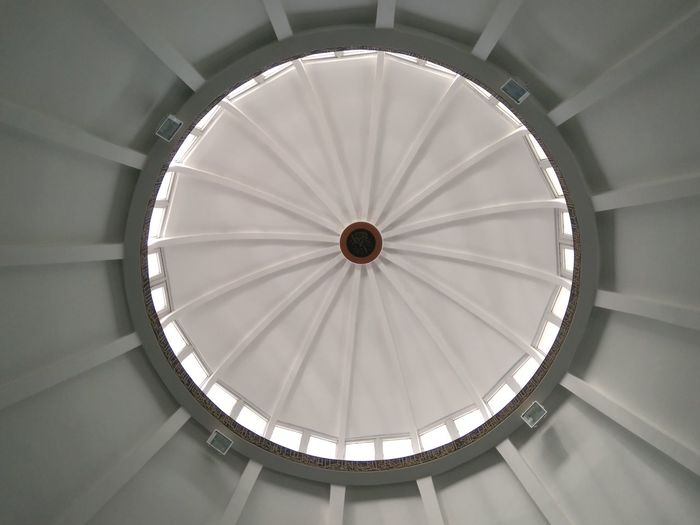 Merve camii Clock Face Dome Business Finance And Industry Modern Architecture Built Structure Close-up