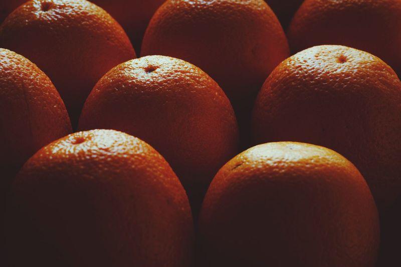 Oranges Order Pattern Arranged Round Shapes Shadows Fruit Oranges Orange Color Food And Drink Still Life Fruit Healthy Eating Food No People Freshness Close-up