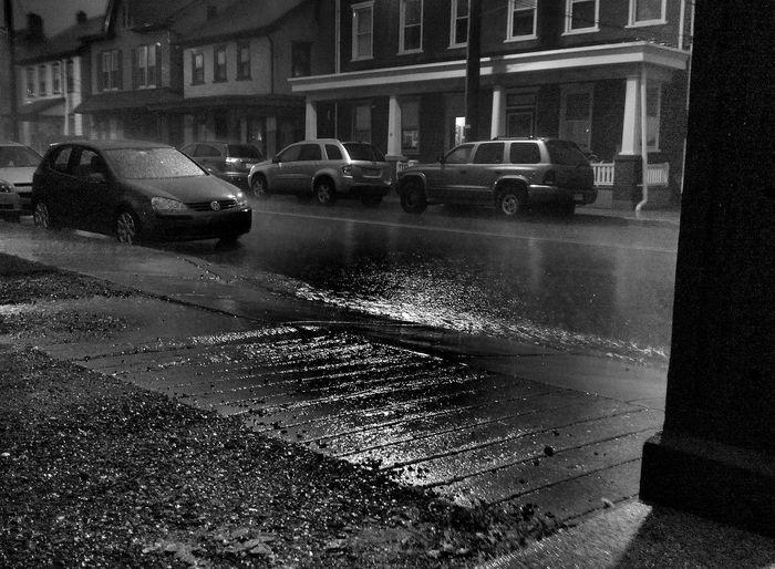 City Street Outdoors Pluviophile Rain Storm Volkswagen VW Weather Wet First Eyeem Photo