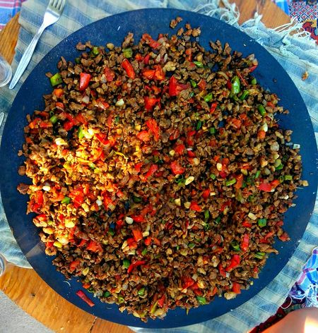 My World Of Food Saçkavurma Sac Delicious My Food