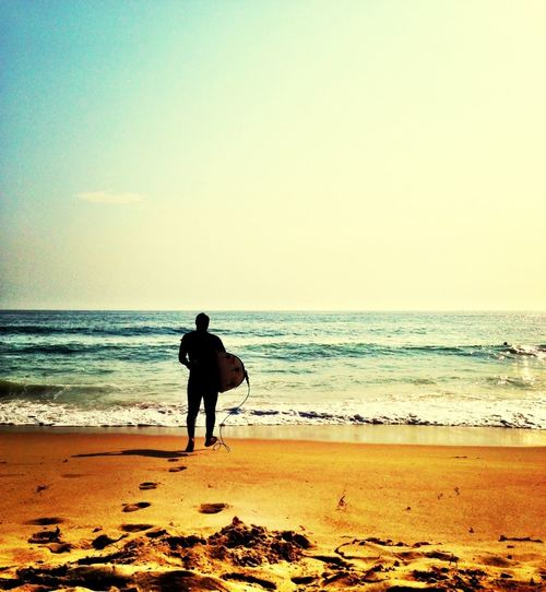 Late Afternoon Surfing