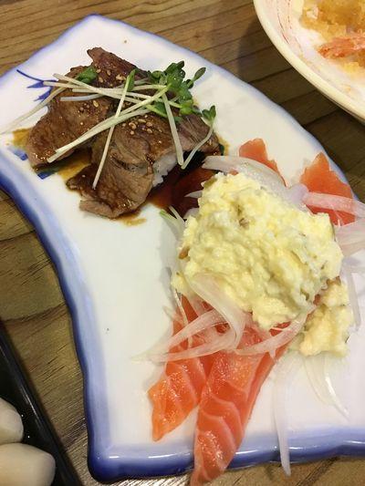 Food Salmon Sushi 연어초밥 선초밥
