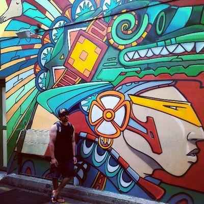 Native. Streetart Graffiti Sunday Singaporeslinging