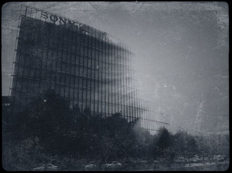 part three of what is obviously turning into an experimental series of »vintaging« photographs | potsdamer platz Into The Light Contrast Admiring The Architecture  Vintage Fx