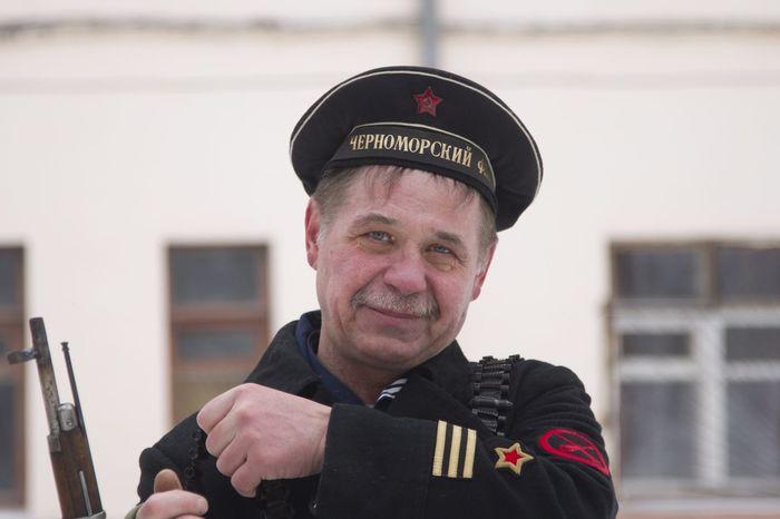 реконструкция в ЧВВАКУШ 23 февраля 2016 история советский матрос СССР
