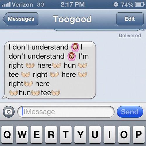 Lol. This bitch @ayo_tooqood21 BadGirlsClub Bgc9