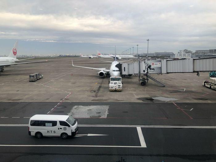 東京 -> 神戸 #スカイマーク #SKYMARK Skymark Airlines Skymark Transportation Sky Mode Of Transportation Cloud - Sky Road Nature Land Vehicle