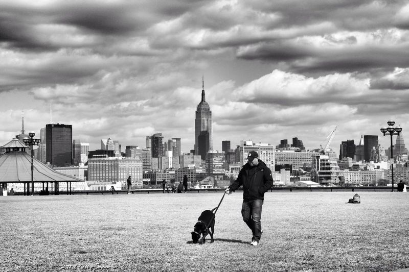 Walking The Dogs EE_Daily: Black And White Divestreetphotography EyeEm Hoboken Meetup