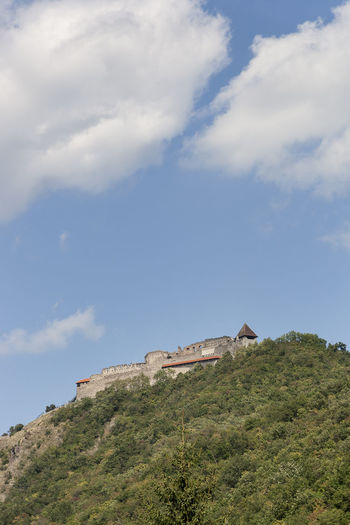 Visegrád 01 Castle Cloudy Sky Danube Bend Historical Building Panoramic View Tourist Attraction  Upper Castle Architecture Building Exterior Day Forest Forest Trees Landscape Low Angle View Magyar Mountain No People Outdoors Scenic View Tourism Tourist Destination Travel Destinations