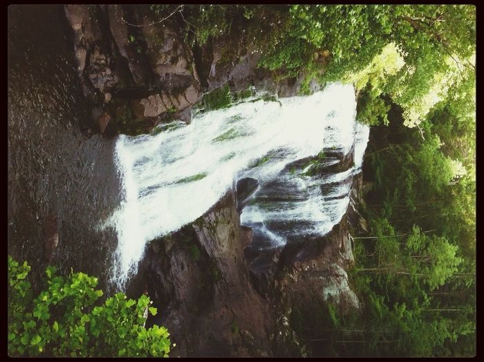 Relaxing Nature Water Fall Tennessee
