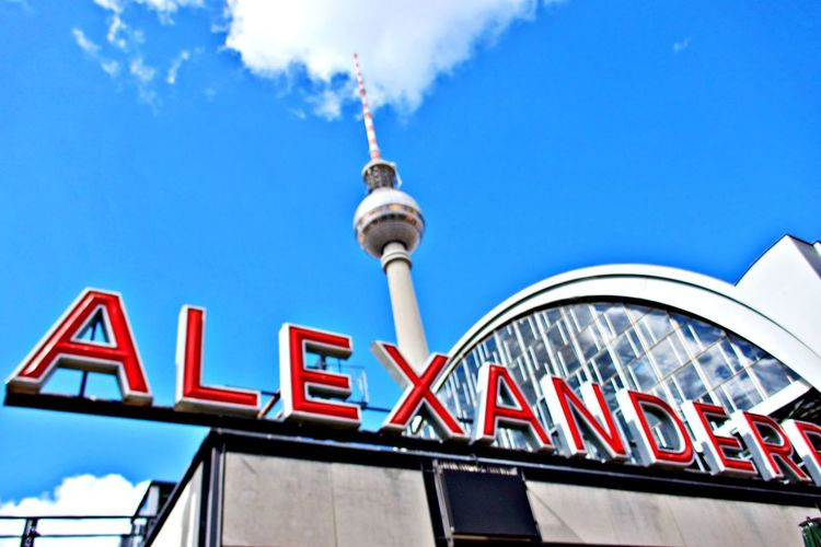 Architecture Low Angle View Built Structure Building Exterior Day Communication City Travel Travel Destinations No People Outdoors Building Sign TV Tower Alexanderplatz