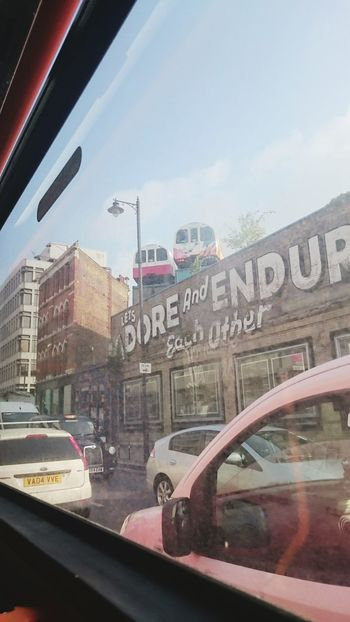 London Bus View Urban Landscape Urbanexploration Urban Art
