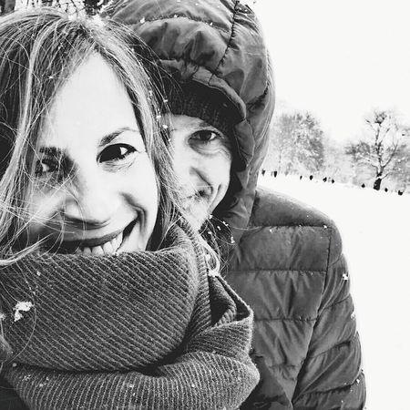 Snow ❄ Doubleexposure München Happyness