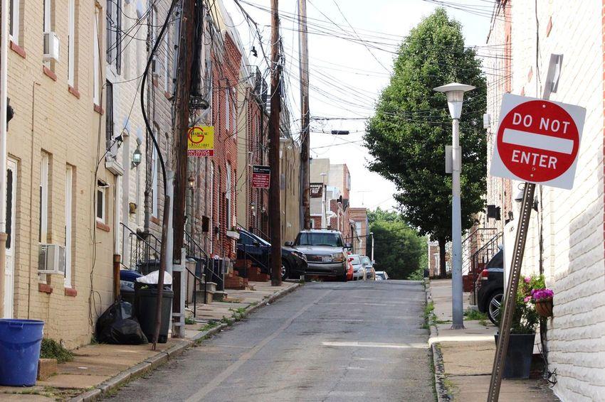 A Baltimore Alley. Streetphotography Eye4photography  EyeEm Best Shots WJII Photography Open Edit The Street Photographer - 2015 EyeEm Awards