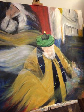 MyArt Art ArtWork Lefke Naqshbandi Spritual