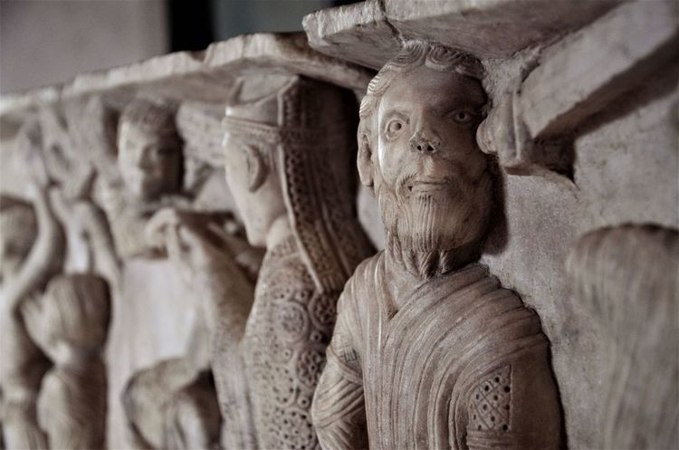 Art Italy Medieval Medieval Architecture Medieval Art Rocca Sculpture Spoleto Spoleto-Umbria <3 Stone Stone Sculpture Stone Statue Umbria