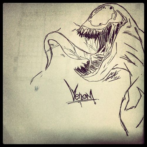 Venom Art Comics Spiderman