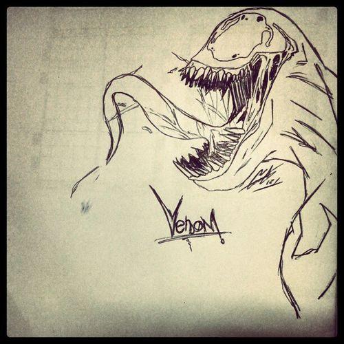 Venom Art Comics Spiderman