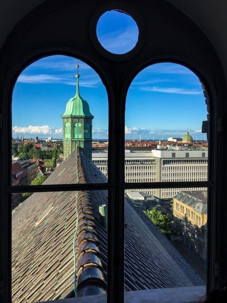 Enjoying The View from Rundetårn  an Astronomical Observatory in København Denmark