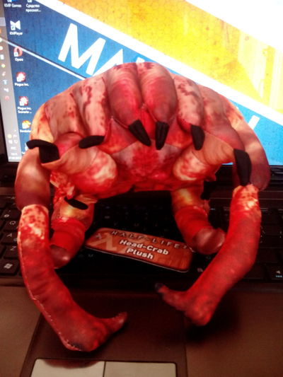 Headcrab Halflife Birthday Gift Toy