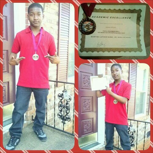 Taking Pics My Certificate Honor Reward