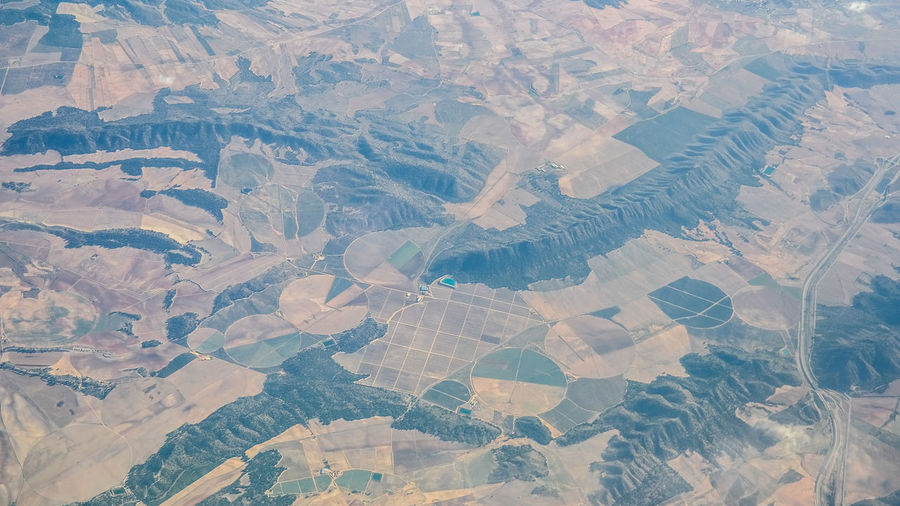 Spanish landscape from an airplane Nature Textures Perspectives On Nature SPAIN Aerial View Agriculture Airplane Beauty In Nature Cultivated Cultivated Land Field Flying From An Airplane From An Airplane Window From The Airplane From The Airplane Window Landscape Nature Outdoors Patchwork Landscape Plowed Field Rural Scene Scenics Spanish Landscape Top View Tranquil Scene