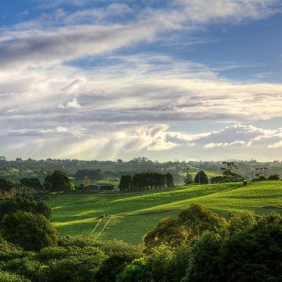 Stormfront over Whitford Newzealand Landscape Aoteoroa Photography