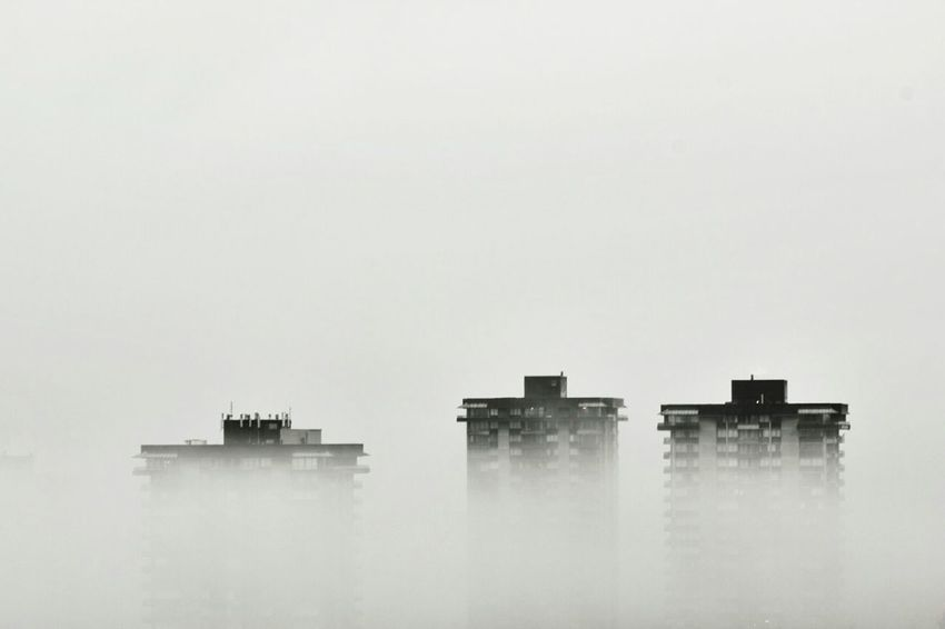 How's The Weather Today? Fog Fog City Captured Moment City Cityscape