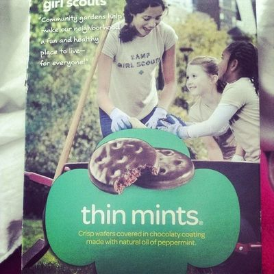 It needs to happen. Girlscouts Thinmints Icouldeatthewholebox