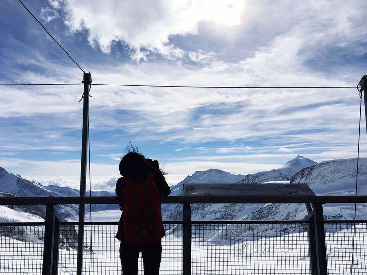 Jungfrau Jungfraujoch Switzerland Top Of Europe Frozen Grindelwald Traveling Traveller Travel Destinations Followme Follow4follow Follow Like Like4like Likeforlike Likesforlikes Likes Best View Mountain Mountains Travel Cloud - Sky Blue Sky Snow Sports Miles Away