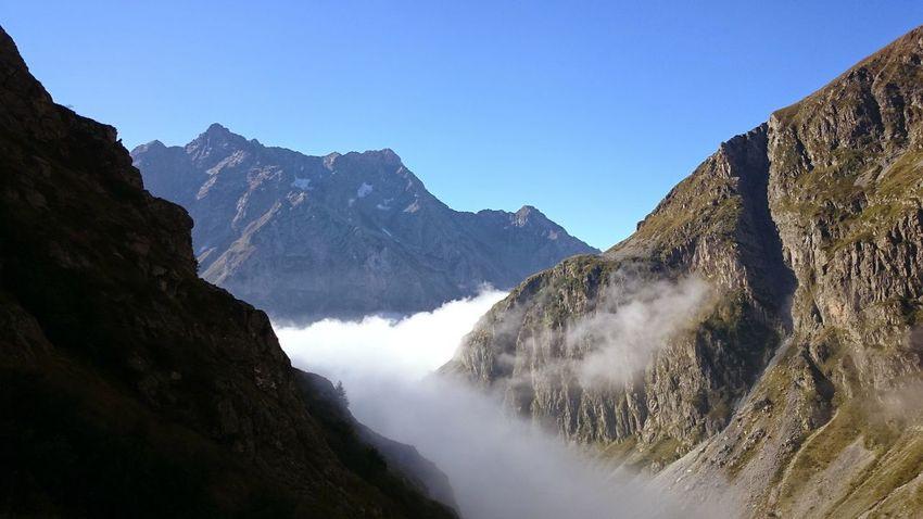 Mountain Peak Mountain Range Mountain Summer Beauty In Nature Hikingadventures Hiking❤ Silence Of Nature Cloud