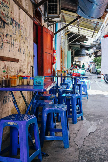 Street food restaurant in Bangkok Chinatown Bangkok Charoen Krung Road Chinatown Bangkok Thailand No People Street Food Streetfood Thai Food first eyeem photo