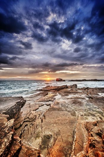 Rinlo Galicia Landscape Taking Photos