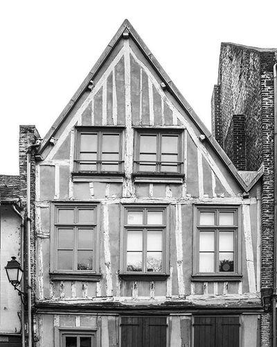 Photograhy Blackandwhite Amiens France Architecture