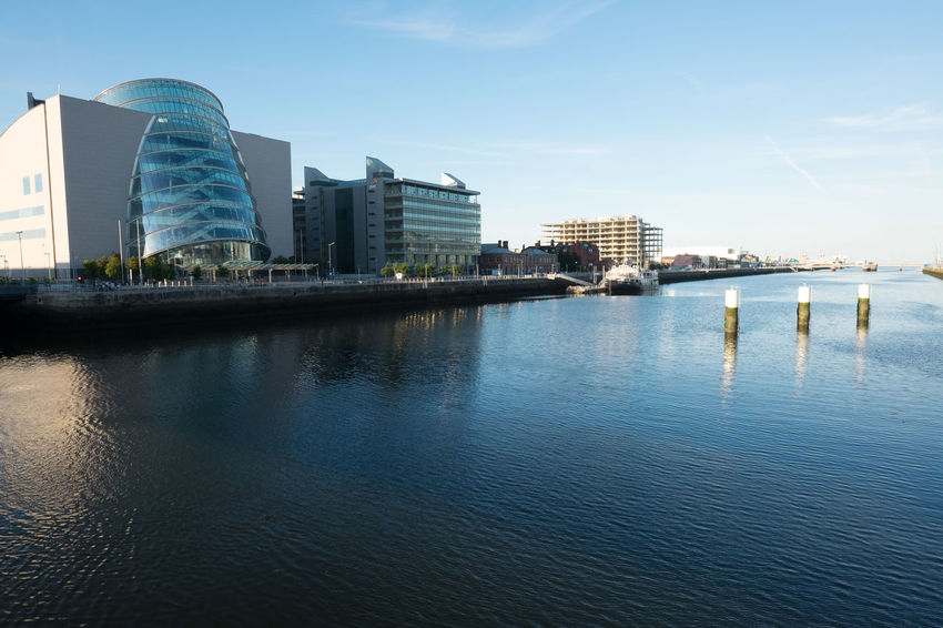 Convention Centre, Dublin Calm Capital City City Life Dublin Europe Human Settlement Ireland Liffey Reflection River Riverbank