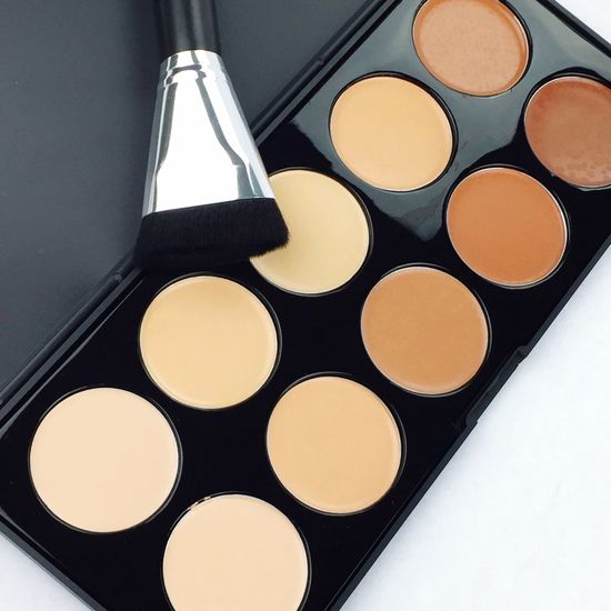 Color Palette Contouring Contouringandhighlighting Makeup Brush Concealer Cream Crème Color Palette