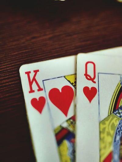 Love is . . Kingqueen Love Heart