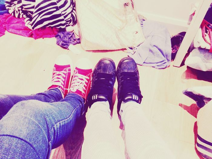 Love Life ❤ Feet👣 Taking Photos Messy Room Dont Care