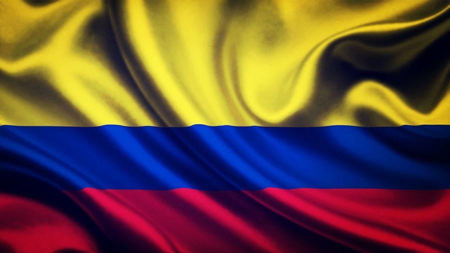 Bandera Colombiana Flag Colombia Orgullo Patrio Orgullo Colombiano